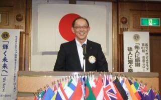 第一副会長 L今村による 開会ゴング・開会宣言