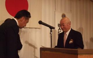 第51期~60期、クラブ功労賞(会長・幹事)の伝達