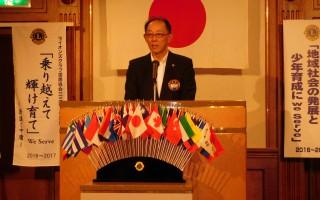7月第1 会長L今村基本方針発表