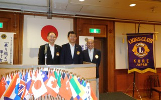7月第2、新会員L木元、入会式